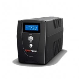 CyberPower UPS 600VA/360W 600EILCD, line-int., Euro, desktop, green