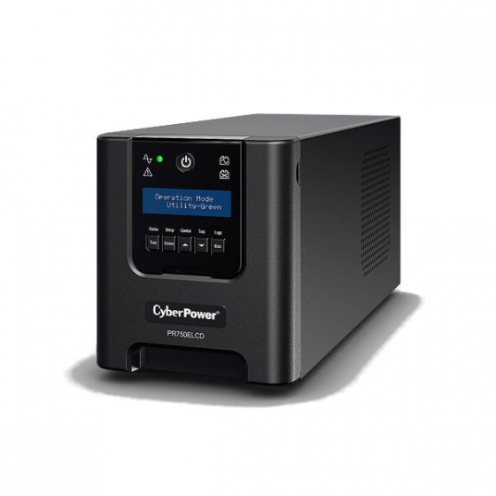 CyberPower UPS 750VA/675W PR750ELCD, line-int., Euro, desktop