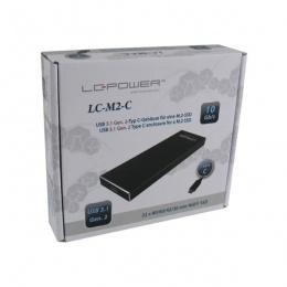 LC-Power kućište za M.2 SSD Type-C, crna