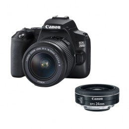 Canon EOS 250D 18-55mm + 24mm