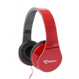 SBOX Headset HS-501 crvene
