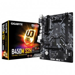 Gigabyte MB GA-B450M-S2H, AM4, AMD B450