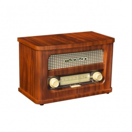 Radio Ibiza Vintage Retro bluetooth, USB, MP3, 10W RMS