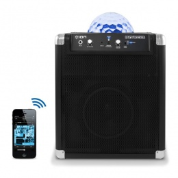 Zvučnik prenosni Party-Rocker 50W, bluetooth, 2x mik, RGB