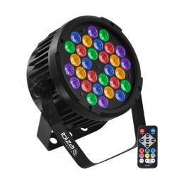 LED rasvijeta Ibiza PAR PARLED-302IR DMX 30 RGBA-UV LED