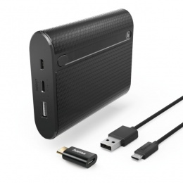 Hama power bank X10 10400mAh crni