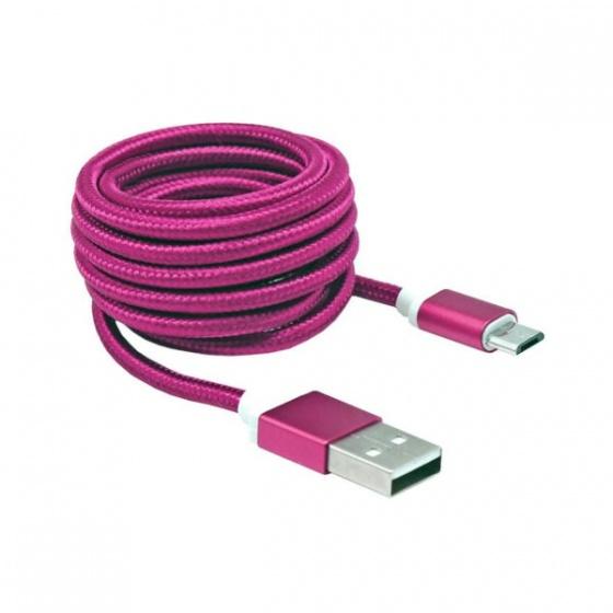 SBOX kabal micro USB 1,5m rozi