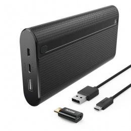 Hama power bank X20 20000mAh crni