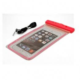 Futrola za mobitel vodootporna univerzalna pink