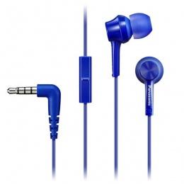 Panasonic slušalice s mikrofonom RP-TCM115E-A plave