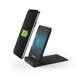 Hama wireless punjač FC10S crni