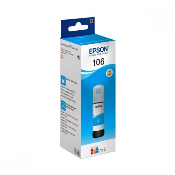 Epson tinta 103 EcoTank Cyan (C13T00S24A)