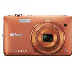 Nikon CoolPix S3500 Orange