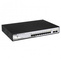 D-Link switch 10-portni gigabit PoE web managed DGS-1210-10P