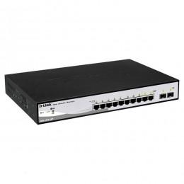 D-Link switch 10-portni gigabit PoE web managed DGS-1210-10P
