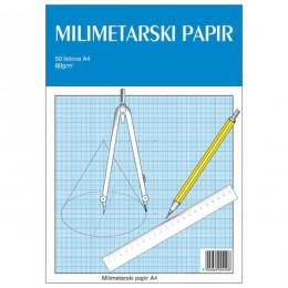 BLOK MILIMETARSKI A4 50/1 GTG