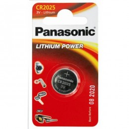 Panasonic baterija CR-2025EL/1B baterija 3V Lithium