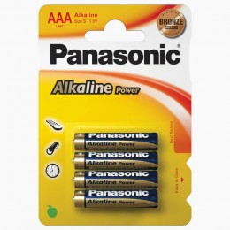 Panasonic Alkalne AAA baterije 4/1 Power Bronze LR03