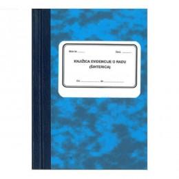Knjiga evidencije o radu - šihterica