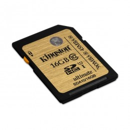 Kingston MC SDHC 16GB SDA10/16GB UHS-I Ultimate Flash Card