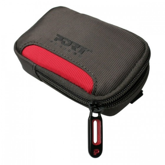 PORT torba za fotoaparat Marbella Crno-crvena