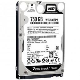 WD Black 750GB 2,5, WD7500BPKX