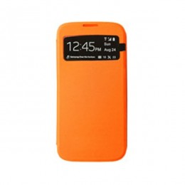 Max Mobile torbica za Galaxy S4 Caller ID Naranđasta