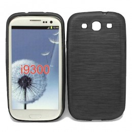 City Mobil silikonska maskica za Samsung Galaxy I9300 crna