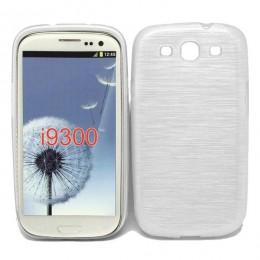 City Mobil silikonska maskica za Samsung Galaxy I9300 bijela