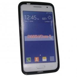 City Mobil silikonska maskica za Samsung Galaxy Core II G355 crna