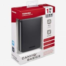 Toshiba Externi HDD 1TB, HDTB310EK3BA, 2,5 USB3.0 Crni