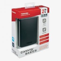 Toshiba Externi HDD 2TB, HDTB320EK3CA, 2,5 USB3.0 Crni