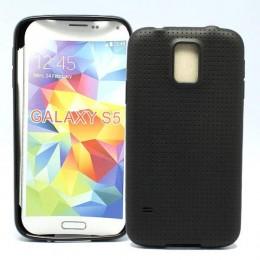 City Mobil silikonska futrola za Samsung S5 Crna