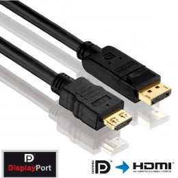 Assmann HDMI to Display Port kabal 2m