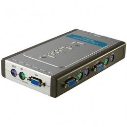 D-Link DKVM-4K KVM 4 port switch PS/2
