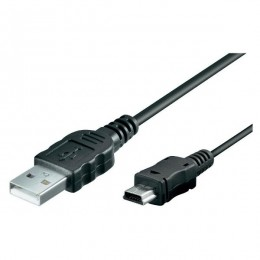 Assmann kabal USB to miniUSB 1,8m, AK-300108-018-S