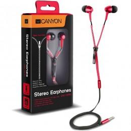 Canyon slušalice CNS-TEP1R crvene