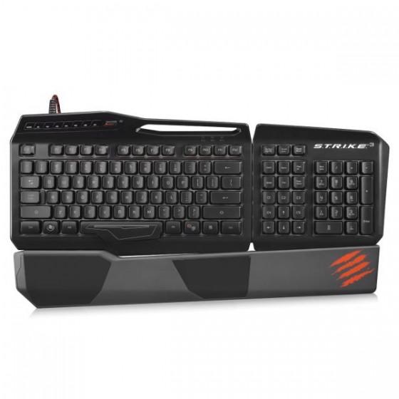 Saitek Mad Catz tastatura S.T.R.I.K.E 3 Gloss, crna