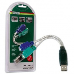 Digitus DA-70118 2xPS/2 F - 1xUSB M adapter