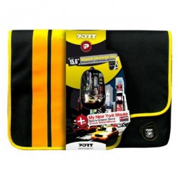 "PORT Messenger 15,6"" žuta torba za laptop + miš"