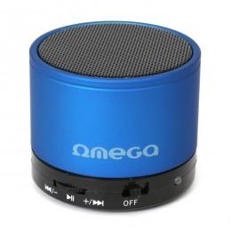 Omega zvučnici bluetooth ALU V3.0 plavi