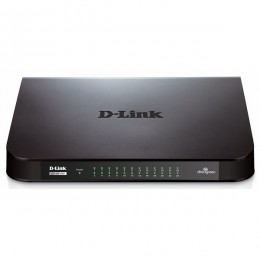 D-link 24-port Gigabit Easy Desktop Switch, GO-SW-24G/E