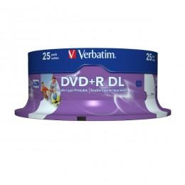 Verbatim DVD+R 8.5GB DL 8X spindle 25/1 (V43667)