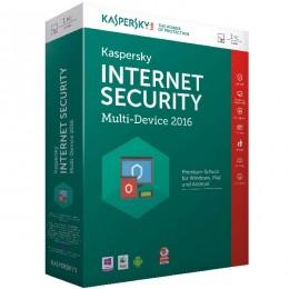 Kaspersky Internet Security MD 2016, 1 + 1 korisnik, Retail