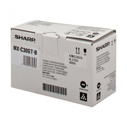 Sharp Toner MX-C30GTB Crna