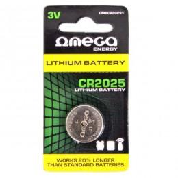 Omega baterija CR2025