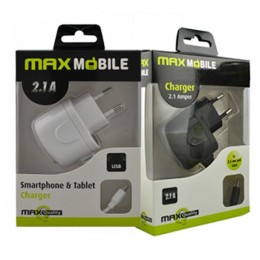 Max Mobile kućni punjač set 2u1 USB+micro data kabl 2,1A