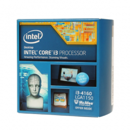Intel Core i3-4160 3.6 GHz, LGA1150 BOX