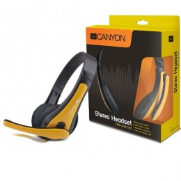 Canyon headset CNS-CHSC1BY crno-žuti