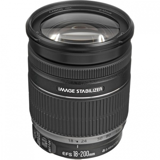 Canon objektiv EF-S 18-200mm f/3.5-5.6 IS